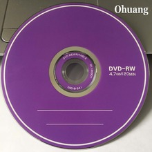 10 discs Grade A X4 4.7 GB Blank Printed DVD RW Disc(China)