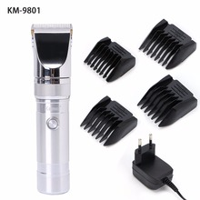 KM-9801 Rechargeable Hair Clipper Trimmer Removal Cutting Machine Health Care(China)