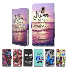 100% Special Luxury PU Leather Flip Cartoon wallet case Book case for Micromax Bolt Q402 Pace