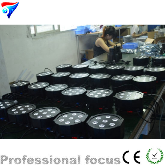 12pcs/lot Fast shipping 7x 12W RGBW DMX Stage Lights Business Lights Led Flat Par High Power Light with Professional for Party<br><br>Aliexpress