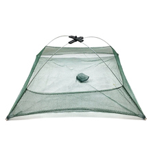 58*58cm Fishing Nets Foldable Mesh Baits Trap Cast Dip Net Crab Shrimp Smelt Crab Lobster Minnows Crawfish Net for Carp Fish(China)