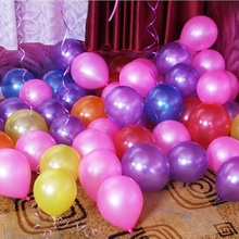 New 100pcs/lot 1.2g Latex Decoration Ballons Pink Purple Party Wedding Decoration Ballons Birthday Party Latex Balloon Wholesale
