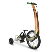 "HalfBike "" The Running Bike"" , Foldable bike with 20"" and 8"" wheels, Disc brakes(China)"