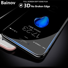 Buy Bainov 3D Full Screen Protector Tempered Glass iPhone 6 6s 7 3D Soft Edge Film Screen Protector iPhone 6 6s plus Glass for $1.00 in AliExpress store