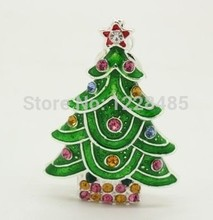 Hot sale usb flash drive 4GB 8GB 16GB 32GB 64GB beautiful christmas trees present   USB Flash 2.0 Memory Drive Stick S159