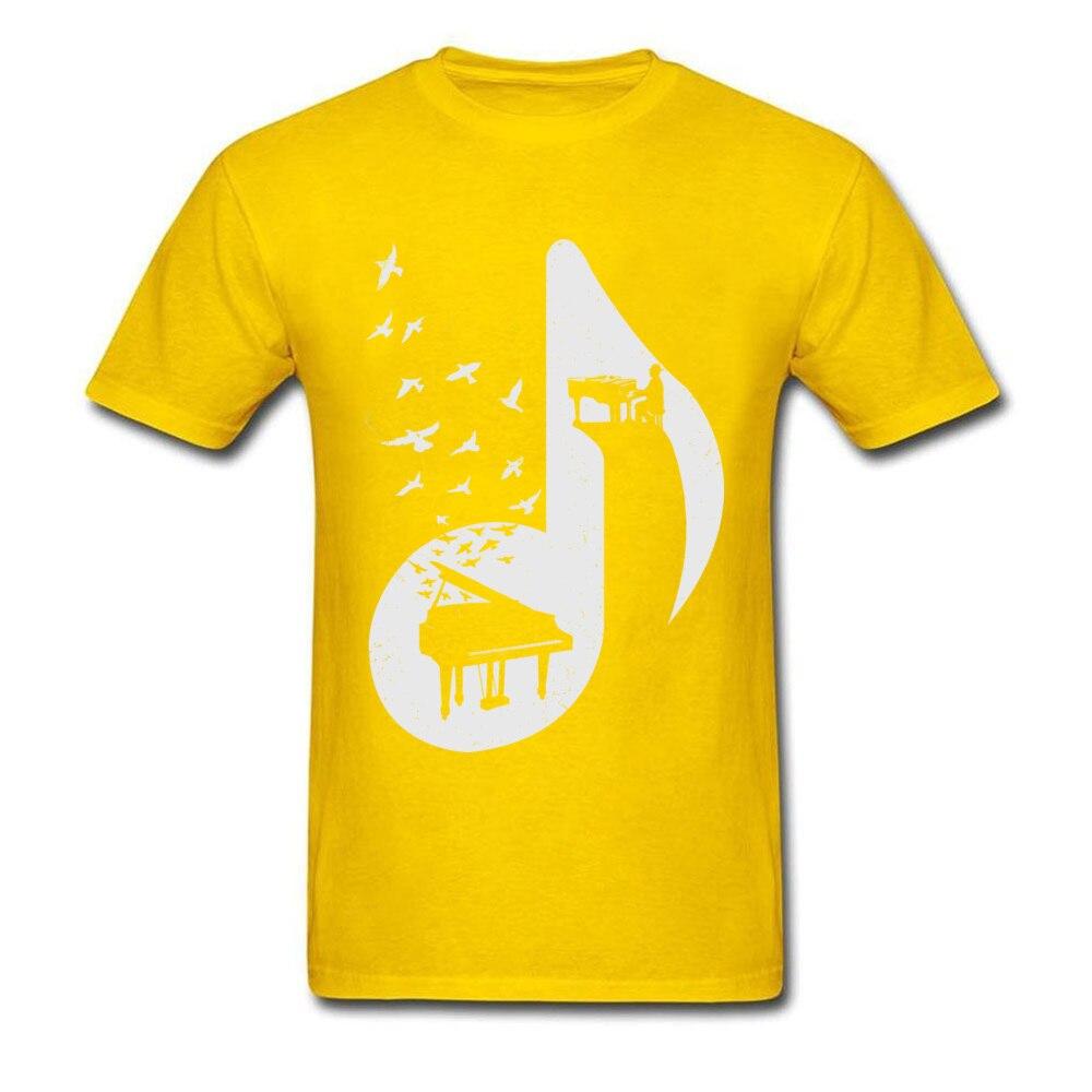 Musical note - Piano_yellow