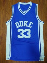 SexeMara DUKE Blue 33 Grant Hill Jersey Stitched College Basketball Jerseys Mens Cheap Throwback Jersey Retro Basketball Shirt