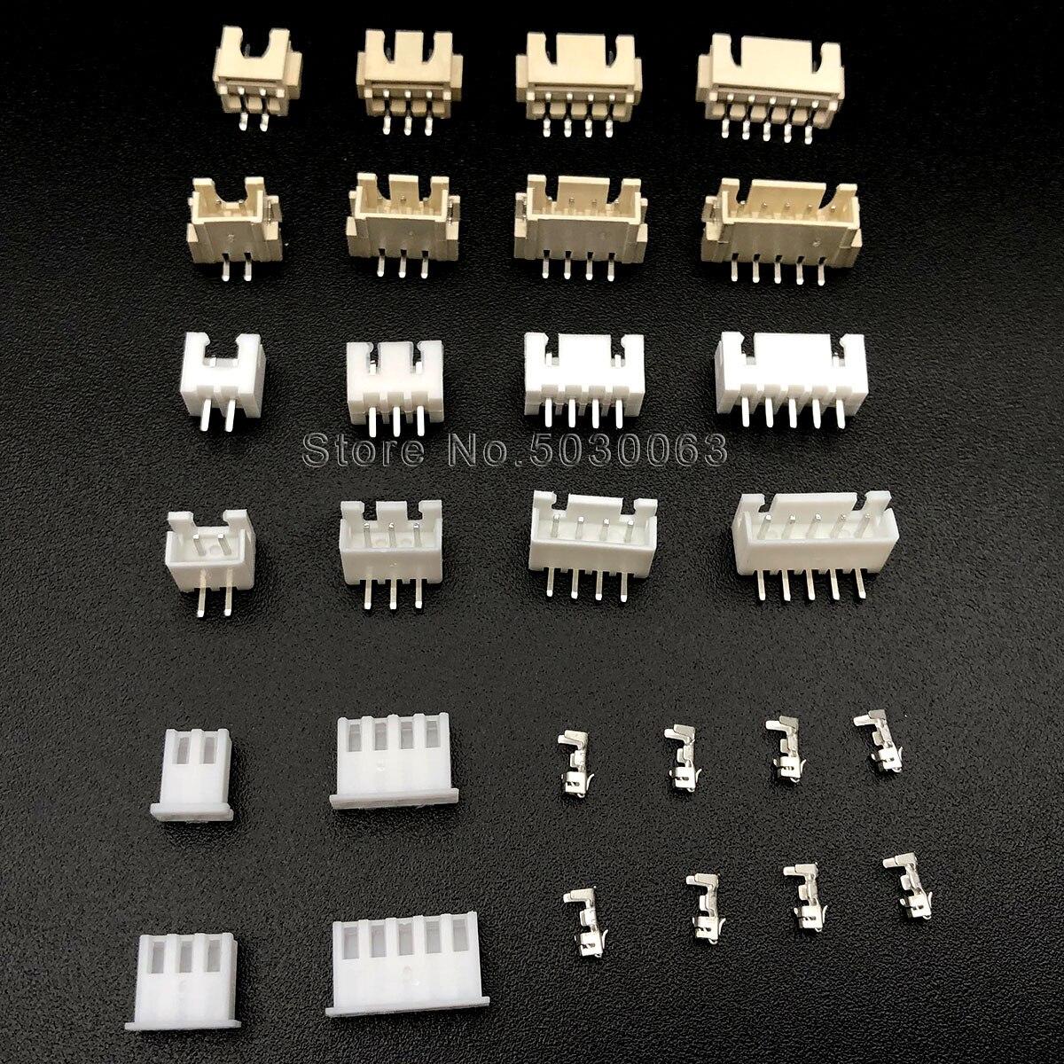 2Pin ~ 12Pin Bent//Straight Pin Shell Vertical Horizontal SMD Socket 1.25mm Pitch