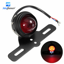 Mofaner 12V Motorcycle Rear LED Brake Tail Light For Harley/Honda/Yamaha /Suzuki/Kawasaki(China)