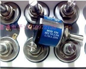 [VK] Vishay spectrol 534-1-1-50k 50k precision multi-turn potentiometer switch<br><br>Aliexpress