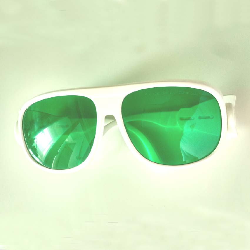 O.D 4+laser safety glasses for violet 405nm lasers, yellow laser 589nm red laser 635 659 660, IR 780 808 810 830 850 980 1064nm<br>