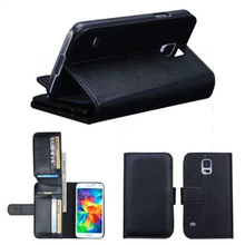 Pu Leather Falling Proof Case w/ Card Slot Wallet Phone Bag Kickstand for Samsung s7 s6 edge plus s6 5 s4 3 phone Accessories(China)