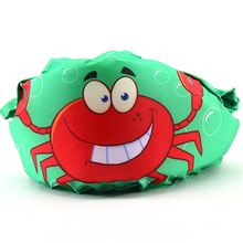 Floating Life Vest for kids Age 2-7 Foam Cartoon Baby Arm Ring Lifejacket for Swimming Wading Pool Swim Aids Toys Life Jacket A(China)