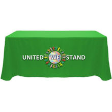 8ft advertising table cover, trade show table cloth, free shipping