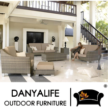 DYSF-D7401 Danyalife European Design Luxury Synthesis Rattan Sofa Set for Outdoor Use