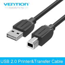 Vention Printer Cable High Speed USB 2.0 Type A Male to Male Scanner Printer Cable Sync Data Charging Cable 1m 2m 5m for printer(China)