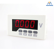 AV51 size 96*48mm Intelligence Class 0.5 1-phase AC/DC digital voltmeter support relay output(China)