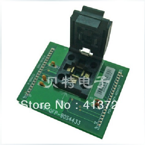 Import CNV-QFP-90S4433 test socket programming adapters TQFP32 DIP28<br><br>Aliexpress