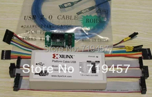 FREE SHIPPING Xilinx Platform Cable USB FPGA/CPLD Download Cable(China)