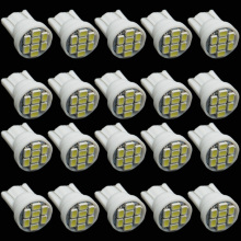 CQD-Light 20PCS white 1206/3020 smd T10 8 smd 8smd 8led led 194 168 192 W5W super bright Auto led car lighting wedge,new