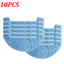 10Pcs/Lot Mop Cloth Pads Chuwi ILIFE A4 Robot Vacuum Cleaner Spare Parts Accessories Replacement Mopping Cloths Pad