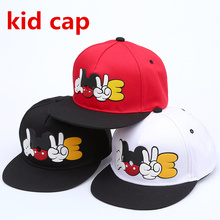 Summer Brand child Cartoon Mickey Baseball Cap Snapback Hats For kid Cute Mouse Hip Hop Caps Casquette Hat