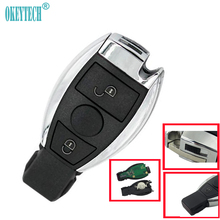 OkeyTech Smart Mercedes BENZ 2000+ Rplacement 2 Button 315/433Mhz Auto Remote Control Car Key & Emergency Key Insert Blade