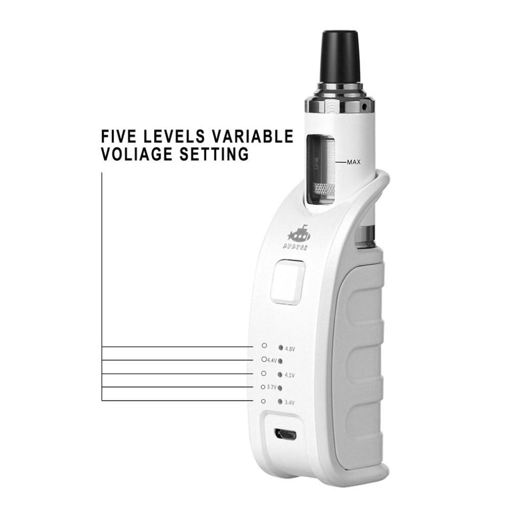 Navigator Premium Vape Mod Electronic Cigarette Kit Huge Vapor 510 Thread Tank Atomizer  Accessories 900mah Adjustable Power