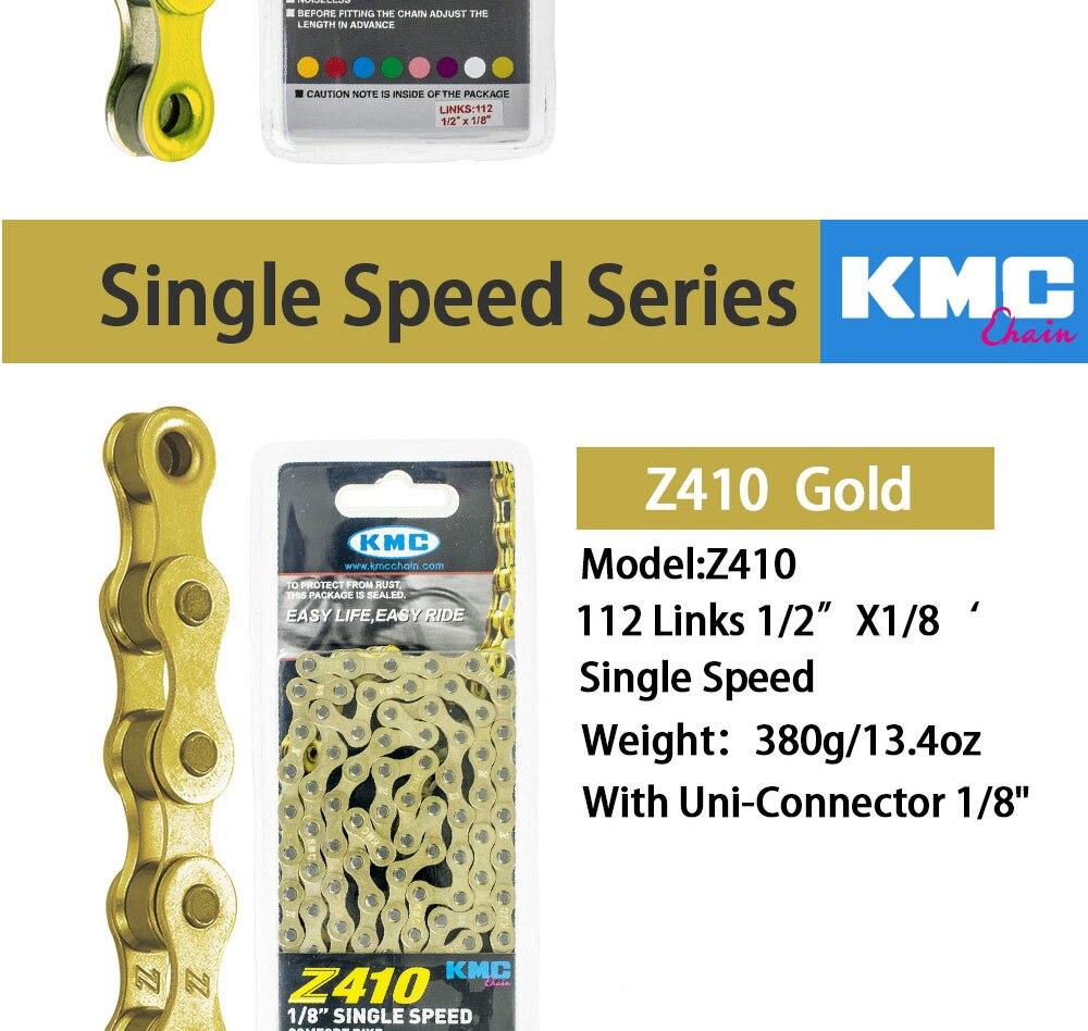 KMC Uni Connector x1 Silver Connector