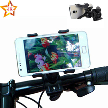 Universal bike phone holder Cycling Bicycle adjustable phone mount holder on bike for iphone 6s plus 5S samsung s6 S5 s4 Car GPS(China)
