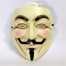 25 Pieces Adult Guy Fawkes Mask V For Vendetta Dc Comics  MASK ONLY, Free Shipping,  v for Vendetta Mask Party Masks Masquerade