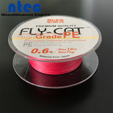 500m Braided Fishing Line 8 Strands PE Fishing Line Pink Color(China)