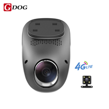 G-DOGT1 4G dashcam Android GPS ADAS dash camera dual lens camara automovil Night Vision auto camera mini hidden car dvr wifi(China)