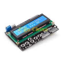 162 16X2 1602 Character LCD Module Display Screen LCM LCD Keypad Shield for Arduino Duemilanove UNO MEGA2560 MEGA1280(China)