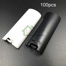 [100PC/ LOT] Wholesale Price For Battery Cover Replacement for Nintendo for Wii Remote Controller Back Pack Door