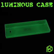gh60 luminous case clear case white/black case for xd60 xd64 poker poker2 poker3(China)