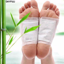2017 Comfortable 10x Good Detox Foot Pad Patch Detoxify Toxins Adhesive Keeping Fit Health Care