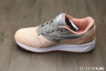 Free Shipping Hot Sale SAUCONY 8000 Men's Shoes,New Colors SAUCONY 8000 Men's Shoes Tan/Grey SAUCONY Hiking Shoes(China)