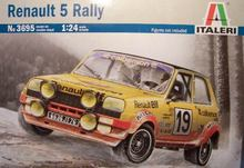 Italeri 3695 1/24 renault 5 rally plastic model kit