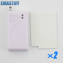eMastiff Wireless 2Pcs Glass Vibration Sensor for Our Home Alarm Home Security System 433Mhz Break Sensor(China)