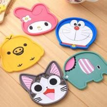 Kawaii Cartoon Coaster Animal Table Mat Pvc Cup Mat Creative Cushion Coaster Coaster Placemats For Table Individuales De Mesa