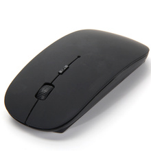 Ultra Thin USB Wireless Optical Mouse 2.4G Receiver Super Slim Mice Mouse for Computer PC Laptop Desktop Black White Candy Color