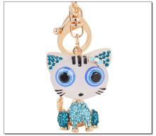 Pretty Cute Big Eyes Little Cat Kitty Keychain Pendant For Bag Handbag Purser Charms Accessory Ornament Lucky Product