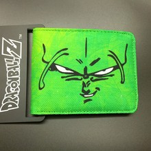 DRAGON BALL character Piccolo canvas man wallets game series Gears of War Saint Seiya famous brand card holder(China)