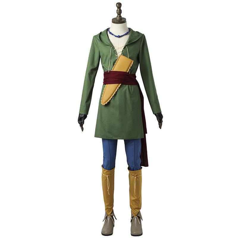 Custom Made Hot Game Dragon Quest 11 Camus Doragon Kuesuto Cosplay Adult Costumes Full Set For Men Outfit Clothing New Style