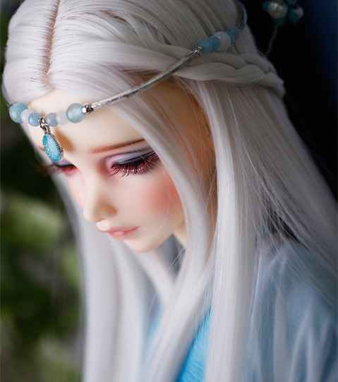 doll accessories 1/3 1/4 Bjd wig doll hair wig long straight braids goddess ancient costume doll cosplay- fa04 <br>
