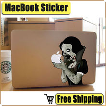 Zombie Snow White Laptop Sticker Vinyl Decal for Apple MacBook Decal Air Pro Retina 11 13 15 inch Cool Art Notebook Skin Sticker