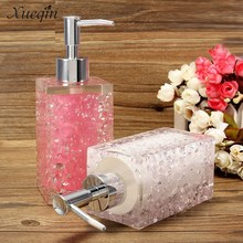 4 Color 350ml Hotel Bathroom Liquid Soap Dispenser Hand Pump Body Lotion Shampoo Cosmetic Emulsion Empty Bottle
