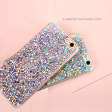 Buy Luxury Bling Glitter Shockproof Soft Silicone Phone Case Cover Apple iPhone 5 5s SE 6 6s plus 7 8 plus cases + for $1.38 in AliExpress store