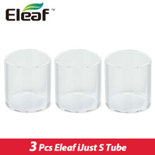3pcs Original Eleaf ijust S Atomizer Tubes Pyrex Glass Tube Pure Color for Eleaf iJust S Kit and ijust s Tank Tube 3pieces/lot
